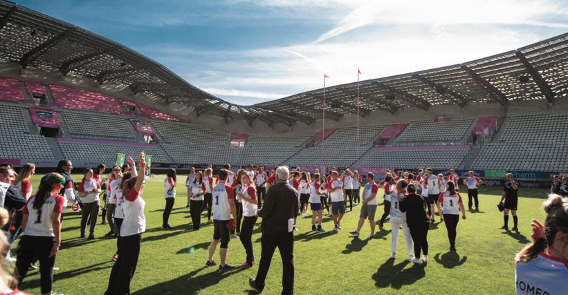 Convention Homebox en 2018, stade Jean Bouin (Paris 16e)